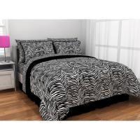 Latitude Zebra Print Complete Bed in a Bag Bedding Set Zebra Print Bedding, Bed In A Bag, My Dream Home, Dorm Room, Comforters, Blanket, Bedroom, Walmart, Bags