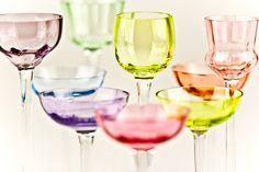 rainbow glass...