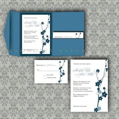 DIY Wedding Invitations Templates | Invitation Template And DIY ...