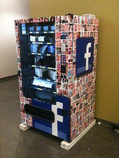 Hardware vending machine at Facebook