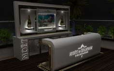 Moet Champagne Corner Bar Dubai Airport on Behance