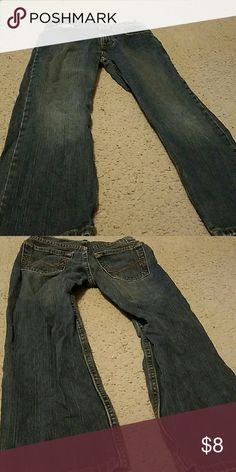 Gently used boy' s Arizona jeans size 8 Jeans have an adjustable waist. They are straight leg Arizona Jean Company Bottoms Jeans
