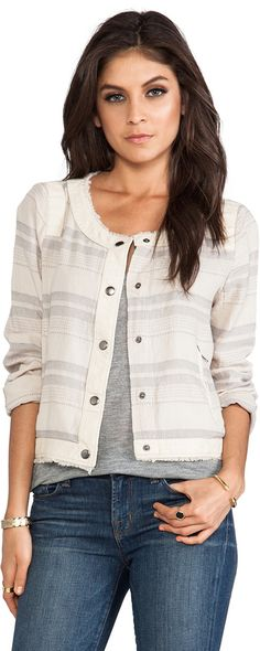 BB Dakota Catorie Striped Jacket