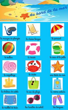 J'aime le français: VOCABULAIRE French Nouns, French Classroom, Teaching French, English Lessons, Kids Rugs, Activities, French Tips, Snorkel Mask, Time Out