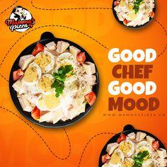 Σαλάτα του Σεφ😋: η πρωταγωνίστρια όλων των σαλατών, με τη γεμάτη της γεύση που σου φτιάχνει τη διάθεση‼️ www.mammaspizza.gr #serres #mammaspizza #onlinedelivery Best Chef, Good Mood, Pizza