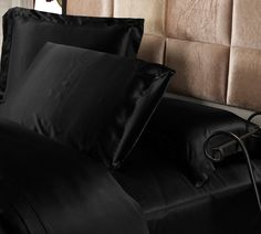 25 Momme Terse Luxury Pillowcase...silk pillow cases...I want :)