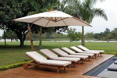 Outdoor Furniture, Outdoor Decor, Sun Lounger, Beach House, Home Decor, Creative Wall Decor, Creative Walls, Gardens, Couches