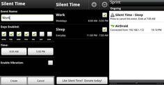 Como silenciar y activar el sonido automáticamente de tu Android