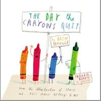 What an amazing mentor text for teaching young elementary students voice in persuasive writing! All of the crayons have issues with how Duncan is overusing or underusing them.