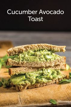For a simple, filling, and bladder-friendly lunch option, make this delicious cucumber avocado toast. Skip the lemon juice and black pepper and load up your toasted bread with smashed avocado, sliced cucumber, and fresh basil. It's the tastiest way to enjoy your mid-day meal!
