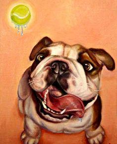 English Bulldog English Bulldog Art, English Bulldog Pictures, Bulldog Pics, English Bulldogs, British Bulldog, Bulldogs Ingles, Boston Terriers, Pet Portraits, Dog Diet