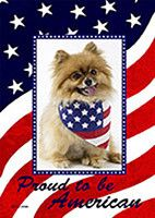 Proud to be American - custom photo flag from flagology.com
