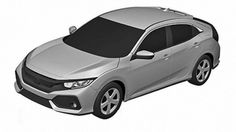 Honda Civic Hatchback Patent Drawings Photo Gallery - Autoblog