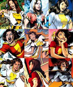 Original Captain Marvel, Captain Marvel Shazam, Marvel Dc, Marvel Comics, Shazam Dc Comics, Arte Dc Comics, Dc Comics Superheroes, Mary Marvel, Dc Comics Collection