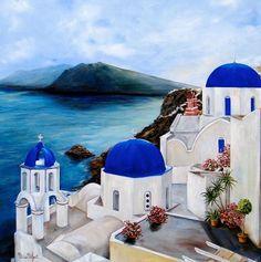 Coast line of Greece.