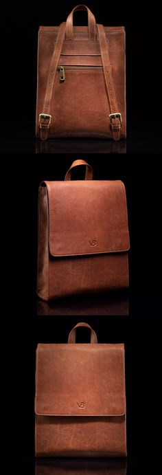 14322fa338 The Minerva Womens Leather Backpack has an elegant and simplistic design