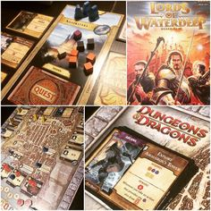 The superb Lords of Waterdeep one of my favourite worker placement games (and set in a Dungeons & Dragons world which makes it even more awesome). We played the basegame tonight as the expansions which are a great addition to the game provide more placement options which make for less struggle to grab that needed space on the board in a two player game. #tabletop #boardgames #brettspiel  #jeuxdesociete #juegosdemesa #boardgamegeek #bgg #wizardsofthecoast #dungeonsanddragons…