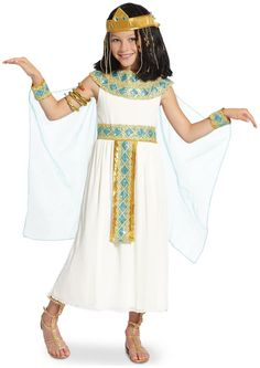 Girls Cleopatra Child Costume for Halloween  sc 1 st  Pinterest & DIY cleopatra costume halloween paper bag pillow case recycled ...