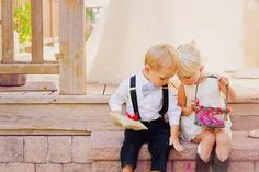 La alegría de las bodas: Los niños de las arras