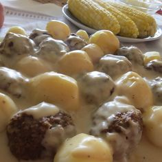 Swedish Meatballs cooked using a Pressure Cooker or a frying pan- you choose!