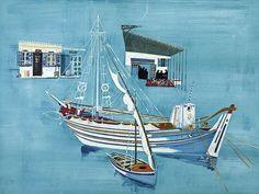 Βασιλείου Σπύρος-Στην αγκαλιά της Θάλασσας. Painter Artist, Artist Art, Greece Painting, Hellenistic Period, Street Art, Video Artist, Parthenon, 10 Picture, Classical Art