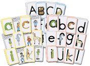 some phonics freebies Phonics Cards, Preschool Phonics, Alphabet Phonics, Teaching The Alphabet, Alphabet Cards, Teaching Phonics, Preschool Education, Animal Alphabet, Alphabet Activities