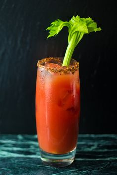 Jesse Hildebrand from Winnipeg& Capital K Distillery serves up this beautiful Bloody Caesar cocktail recipe. Cocktails For Parties, Fancy Drinks, Summer Cocktails, Caesar Cocktail, Oyster Shooter, Caesar Recipe, Cottage Meals, Frozen Rose, Great British Chefs