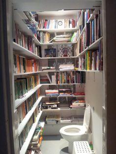 Bathroom library... lol.......