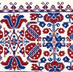 Varrottas - Cross Stitch - Erdély  (Hungarian embroidery from Transylvania)
