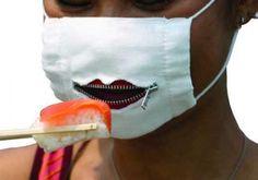 the ever popular japanese flu mask.