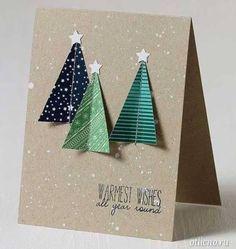 Новогодние открытки своими руками | otlicno.ru