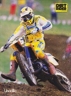 1988 Unadilla GP - Bob Hannah