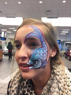 Dianne Nowicki face paint