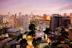 Sao Paulo, Brazil...huge eclectic city...couldn't find my way from the hotel to the office if I tried