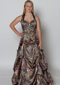 Camouflage Prom Dresses | Cute & Affordable Camo Wedding Gowns ...