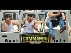 Commando 2013 Theatrical Official Hd Trailer Bollywood Upcoming Action Thriller Movie Starring Vidyut Jamwal And In 2020 Vidyut Jamwal Commando Vidyut Jamwal Body