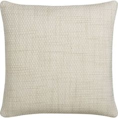 Caney Pillow 20in Ivory