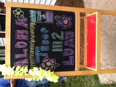 WELCOME BOARD FOR SCOUT LUAU
