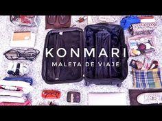 Cómo hacer la maleta y que quepa TODO   Método KonMari   Por Marie Kondo - YouTube