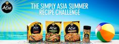 Want to win a Simply Asia Prize Pack? It's easy!   1) Click the Image to go to the Simply Asia Summer Recipe Challenge App 2) Like the page! 3) Vote for your favorite recipes! 4) Comment on your favorite dishes!