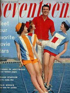 Rock Hudson, the Zac Efron of 1960, rocked our May cover with not one, but three beautiful ladies! Any of our readers like West Side Story? Natalie Wood, the original Maria, laid out her party tips inside of the issue.