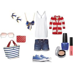 If I keep losing the weight...this will be my July 4th outfit this year!! :D