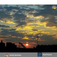 Post de agradecimiento a @world_bestsky y @marisolherreros que han elegido  una de mis fotos para su Magnífica y Preciosa Galería!! Es para mí una gran alegría formar parte de esa gran colección de cielos del Mundo gracias @marisolherreros por contar conmigo