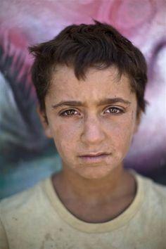 Tolls of War: Syrian Children Take Refuge in Jordan - NBC News