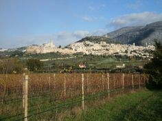 Autumn in Assisi, the first snow