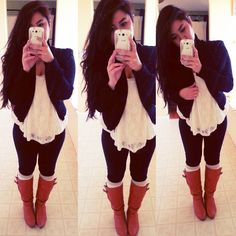 Probably too light for me but i love the color and highlights/lowlights . Cute Outfits For School, Cute Winter Outfits, Fall Outfits, Cute Fashion, Fashion Outfits, Fashion News, Fashion Killa, Swagg, Passion For Fashion