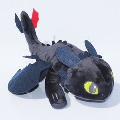 Buy How To Train Your Dragon Toothless Dragon Plush Night Fury Stuffed Soft Dolls Animal Toys For Kids Cute Gifts Toothless Night Fury, Night Fury Dragon, Toothless Dragon, Plush Dolls, Doll Toys, Akira, Pet Toys, Kids Toys, Hello Kitty Drawing