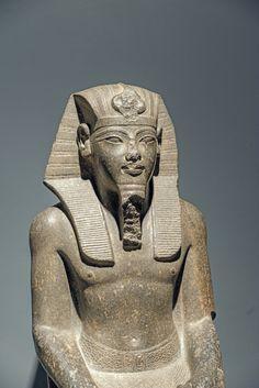 Statue of Amenhotep III c.a. 1386- 1349 B.C. 18th Dynasty, New Kingdom.