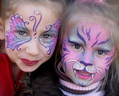 About Face - body art face painting and make-up of Zoe Thornbury-Phillips