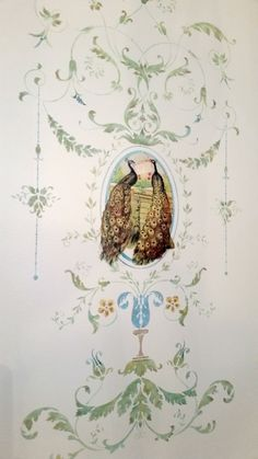 DIY French Versailles Wall Stencil - Reader Feature - The Graphics Fairy